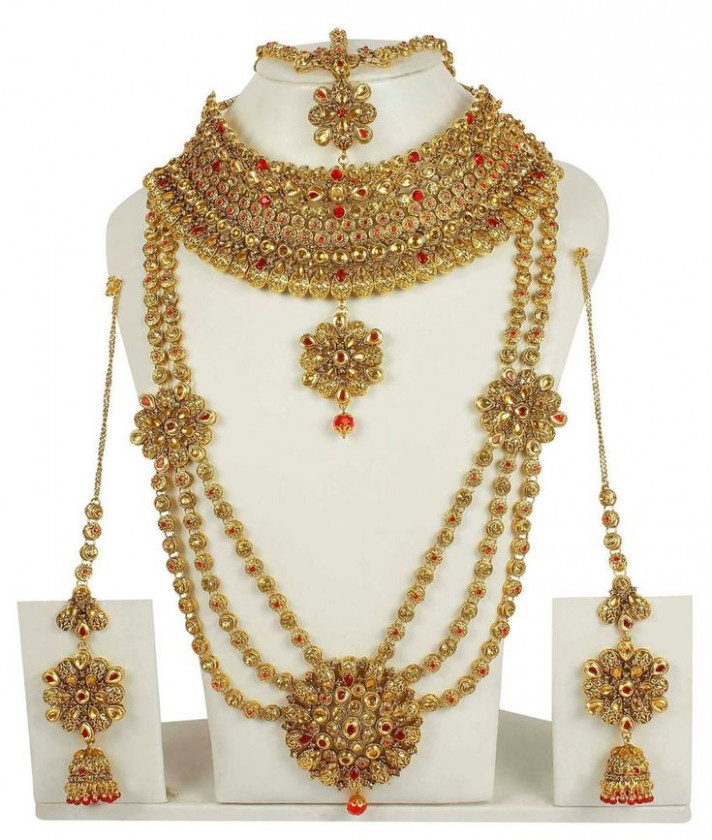 10 best Bollywood Bridal Necklace Set images on Pinterest ...