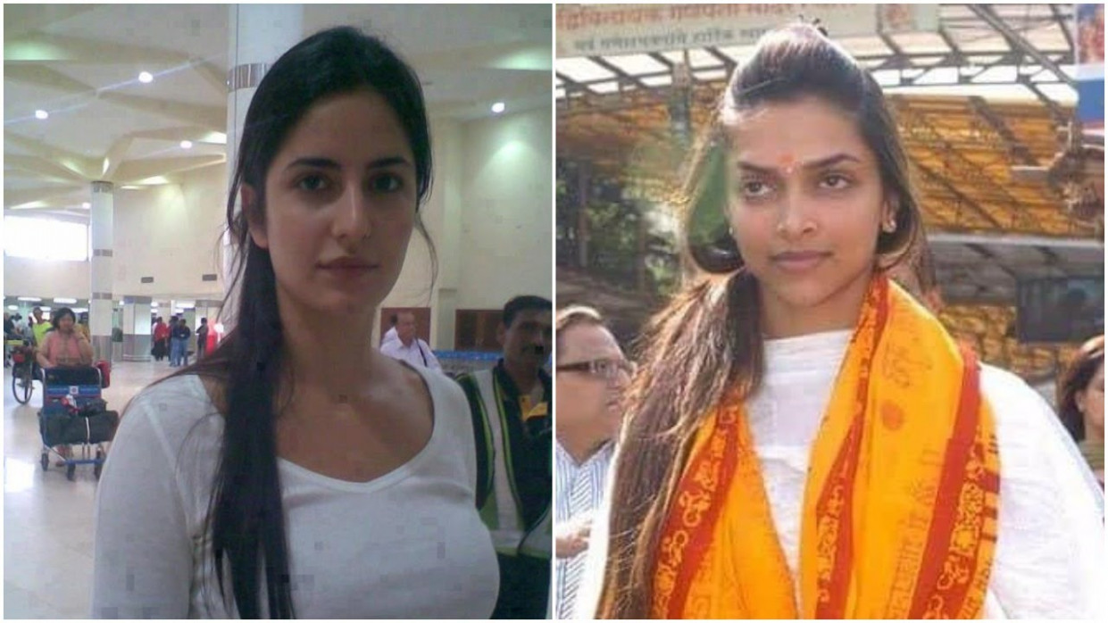 10 Bollywood Actresses looking worst without Makeup - YouTube
