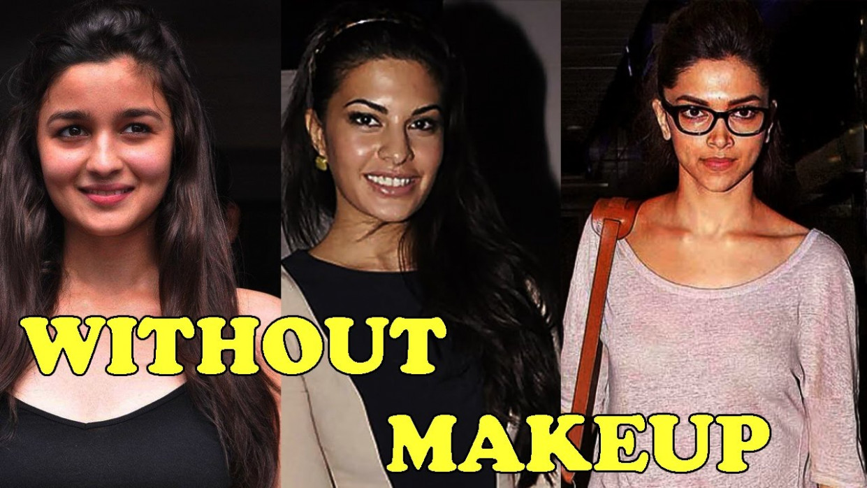 10 Bollywood Actresses without Makeup - YouTube