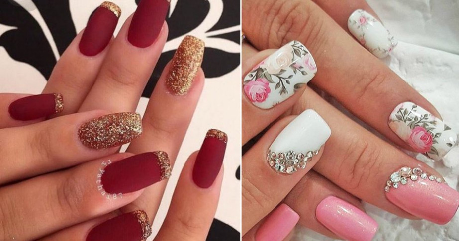 10+ Easy and Gorgeous Wedding Nail Art Design Ideas for ...