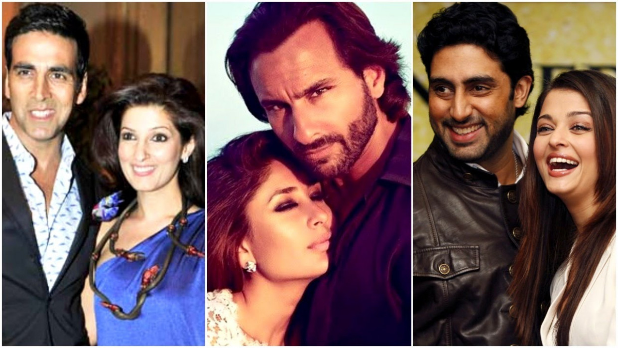 10 Hot Bollywood Couples With Huge Age Difference - YouTube