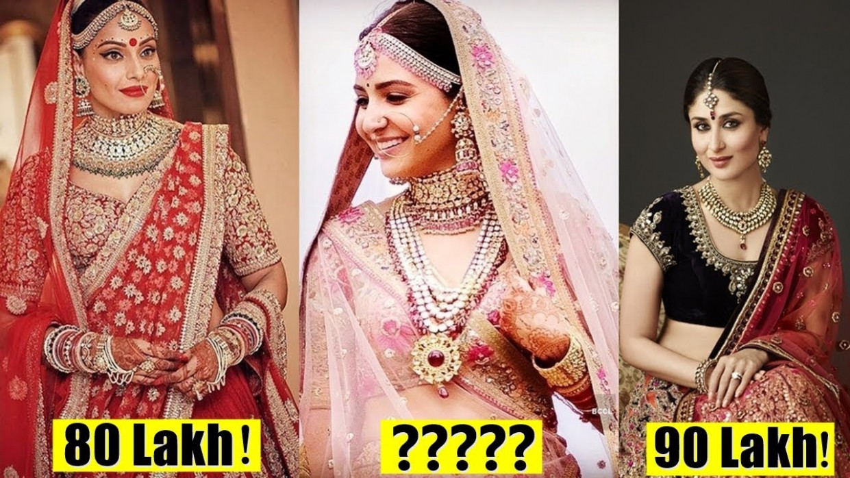 10 Most Expensive Wedding Dresses Of Bollywood Divas ...