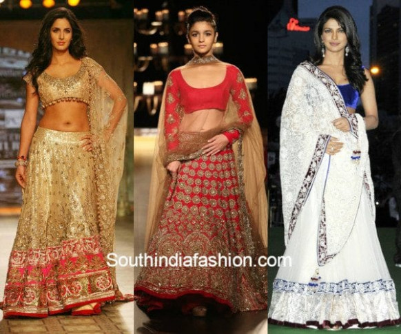 10 Of The Most Beautiful Manish Malhotra's Lehengas ...