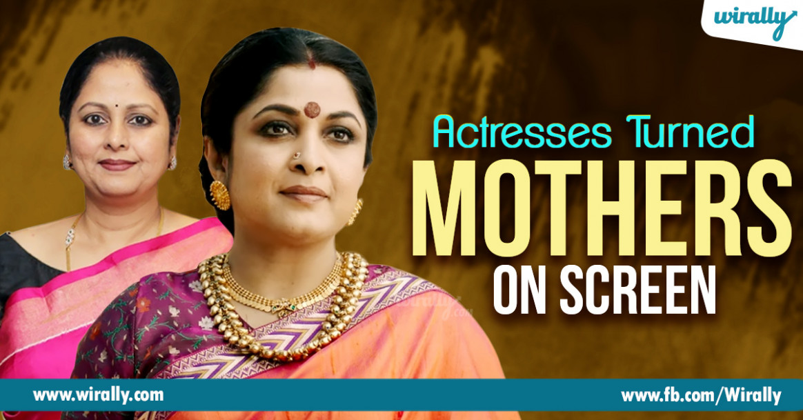 10 Tollywood Actresses Who Played Mother Characters After ...