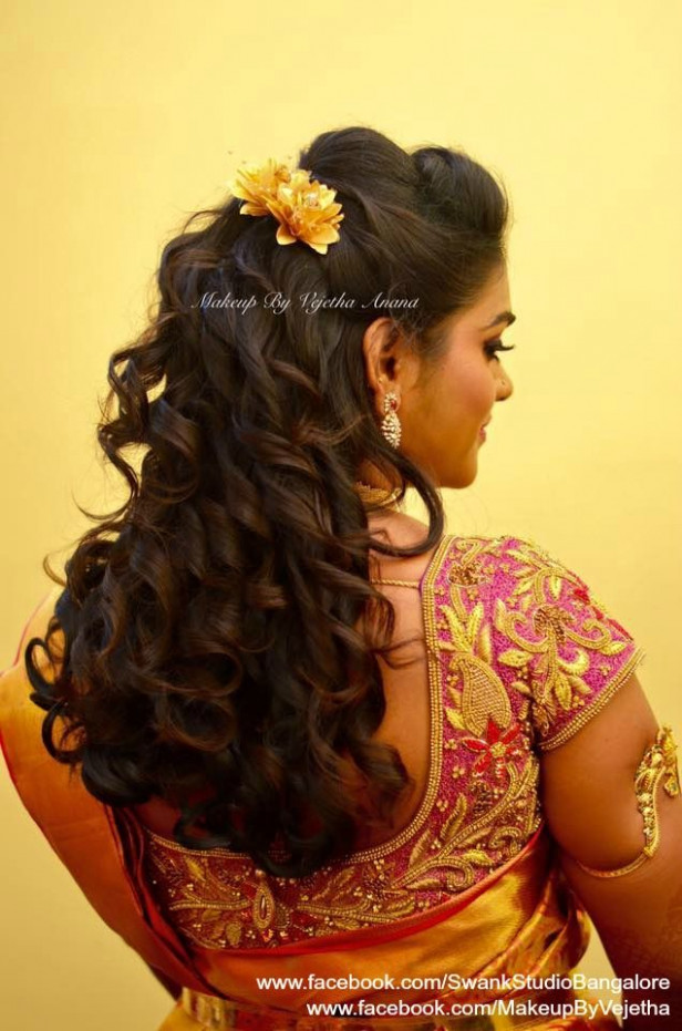 1000+ ideas about Indian Bridal Hairstyles on Pinterest ...