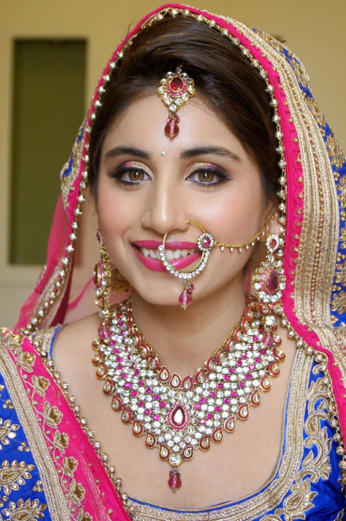 1000+ ideas about Indian Bridal Makeup on Pinterest ...