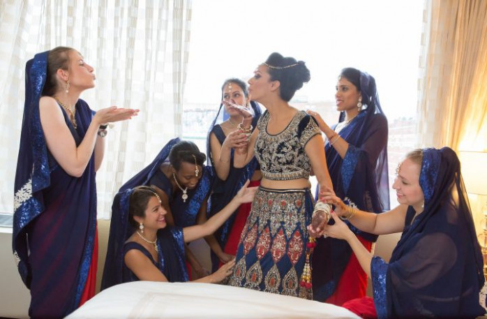 101 best Indian wedding Bridal Party images on Pinterest ...