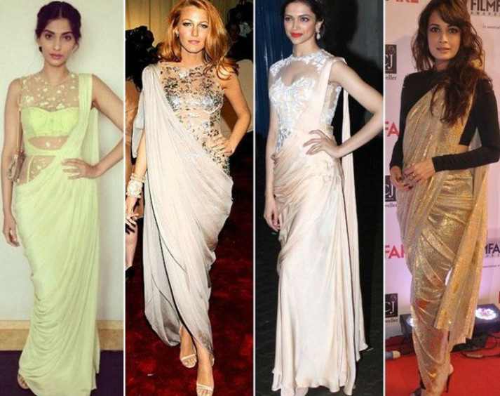 11 best Saree Draping Styles images on Pinterest | Saree ...