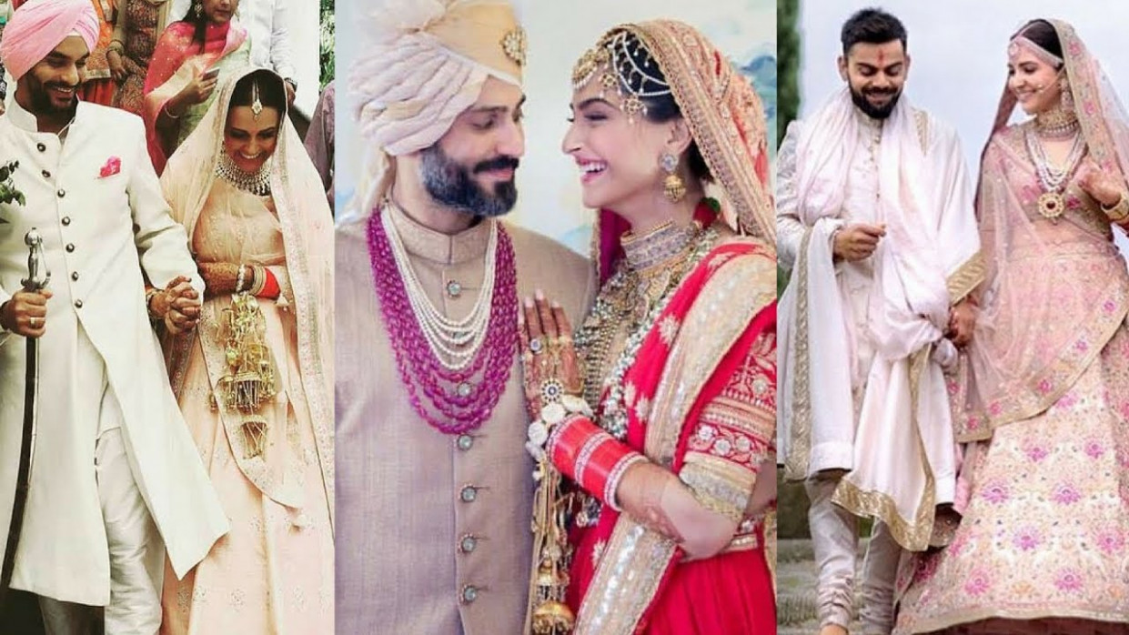 12 Most Expensive Wedding Dress of Bollywood Actresses ...