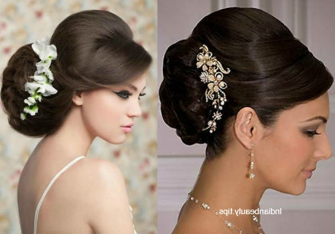 15 Photo of Indian Updo Hairstyles - indian bridal updo