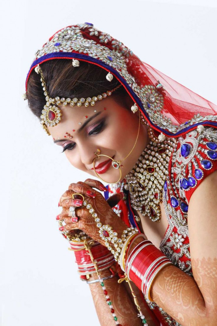 16 best images about Bridal Makeup on Pinterest | Indian ...