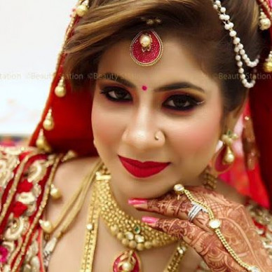 17 Best ideas about Indian Bridal Makeup on Pinterest ...