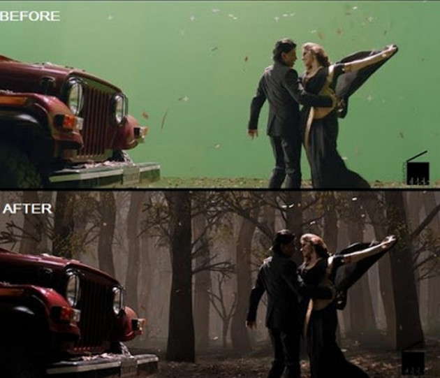 19 Before-And-After VFX Shots From Indian Movies That Will ...