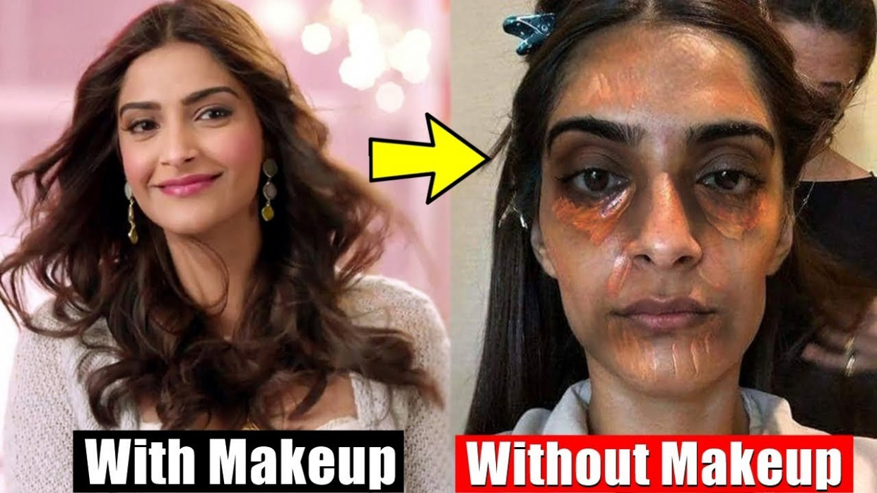 20 Bollywood Actresses Shocking Without Makeup Look | You ...