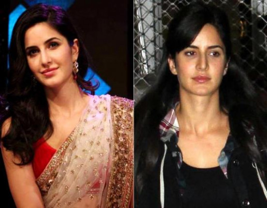 20 Pictures Of Katrina Kaif Without Makeup | Styles At Life
