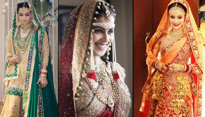 21 Famous Bollywood Divas And Their Wedding Day Look ...
