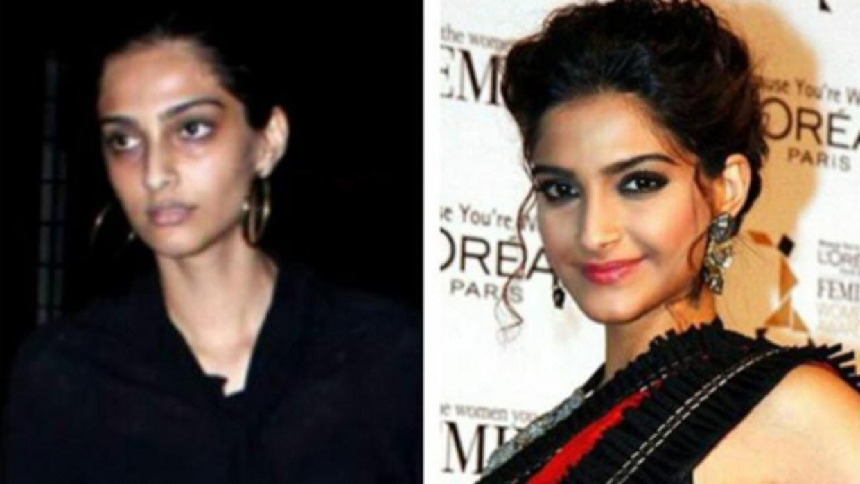 21 Shocking Pictures Of Bollywood Actresses Without Makeup ...