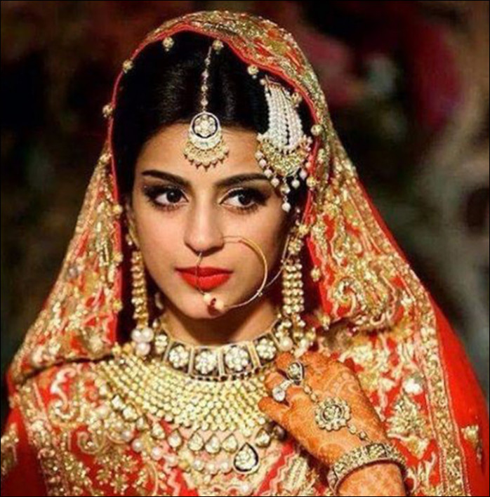 24 Gorgeous Indian Bridal Looks In Celebrity Pictures & More