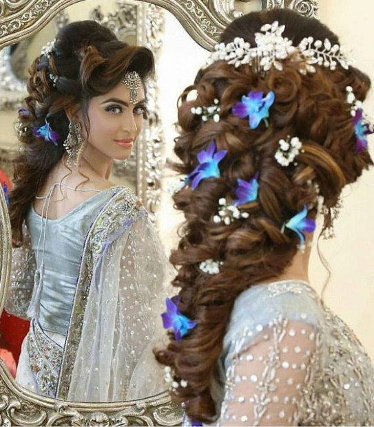 25+ best ideas about Indian bridal hairstyles on Pinterest ...