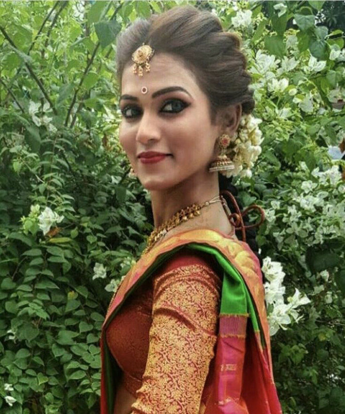 25+ best ideas about Indian bridal hairstyles on Pinterest