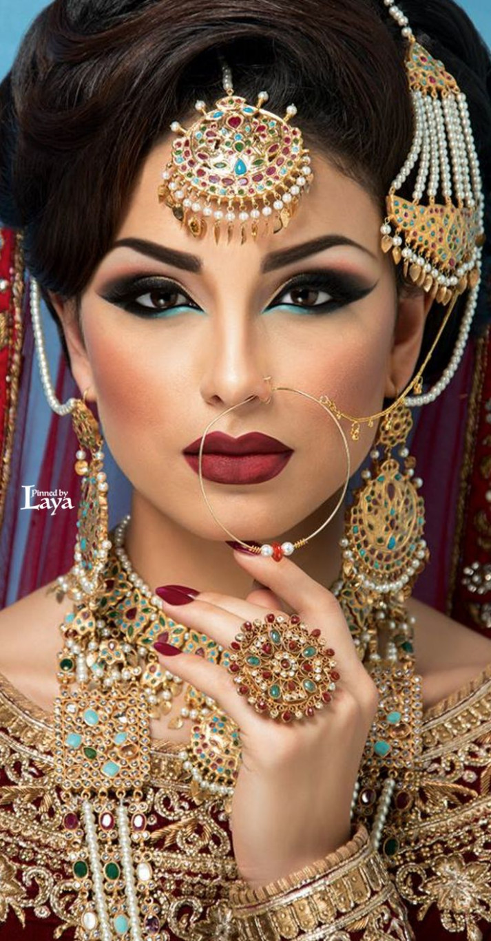 25+ best ideas about Indian Bridal Makeup on Pinterest ...