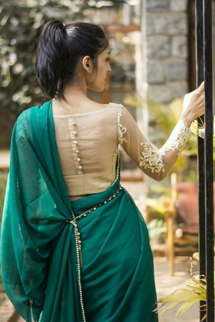 25  best ideas about Saree Blouse on Pinterest | Indian ...
