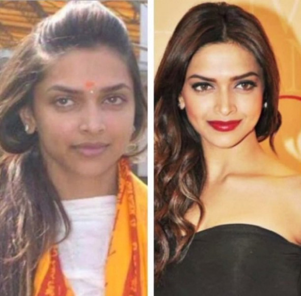 25 Hot Bollywood Actresses With & Without Make Up!! - bollywood no makeup