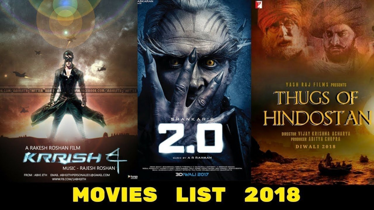 25 Upcoming Bollywood Movies List 2018 Bollywood Mega ...
