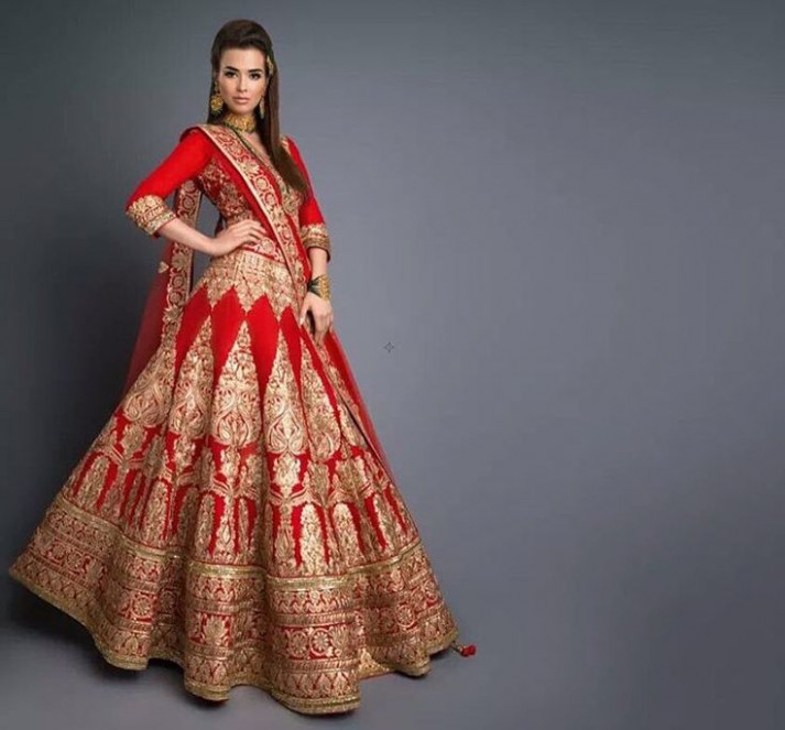 259 best BRIDAL lehenga images on Pinterest | India ...