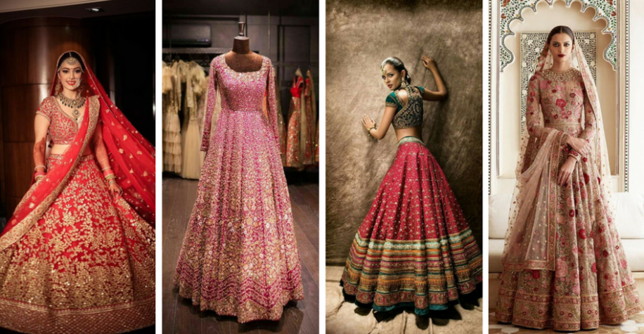 30+ Bridal Lehenga Designs Images for Wedding Reception ...