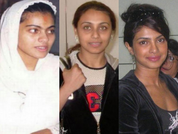 30 Strange Pictures Of Bollywood Actresses Without Make Up ...