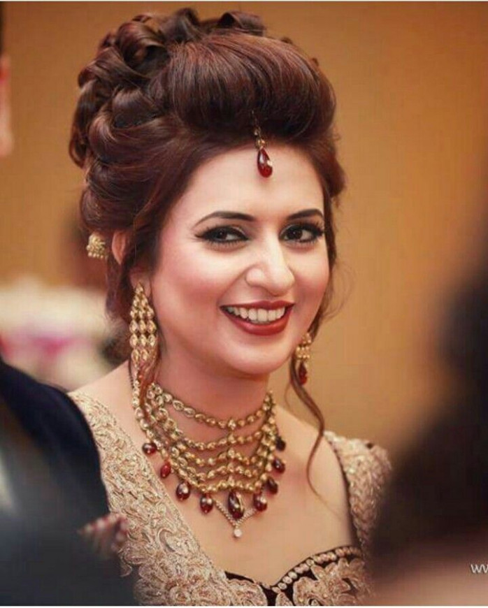 348 best images about Wedding Hairstyles (Indian) by ...