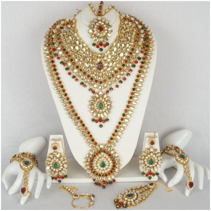 37 best Indian Bridal Necklace Jewelry Set images on ...