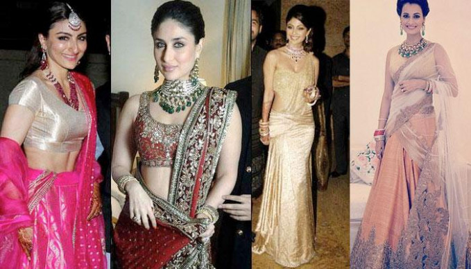 5 Bollywood Actresses Reception Look | Indian Fashion Mantra