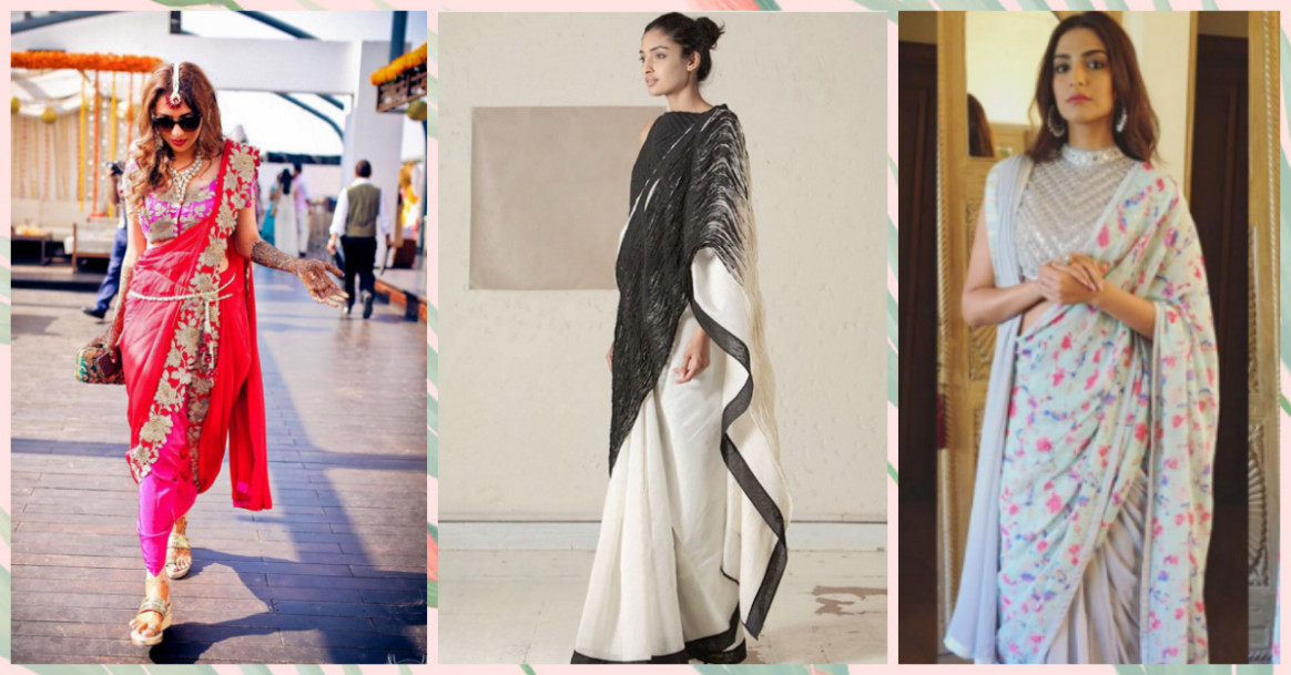 5 Exciting New Ways Of Draping Your Saree! | POPxo