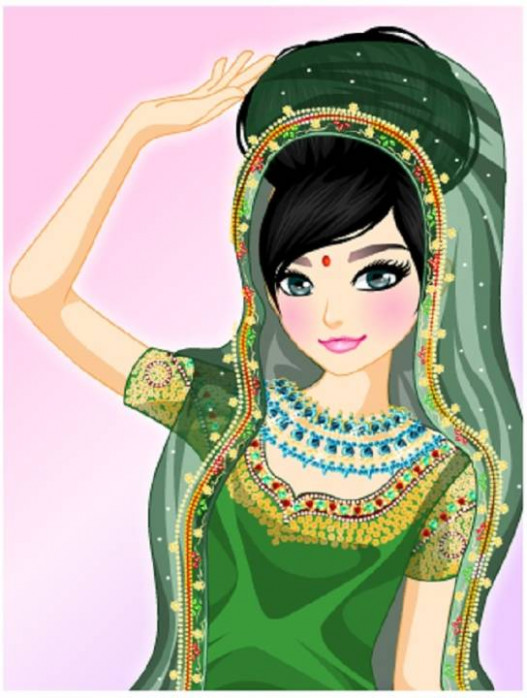 5 Indian Wedding Dress Up Games