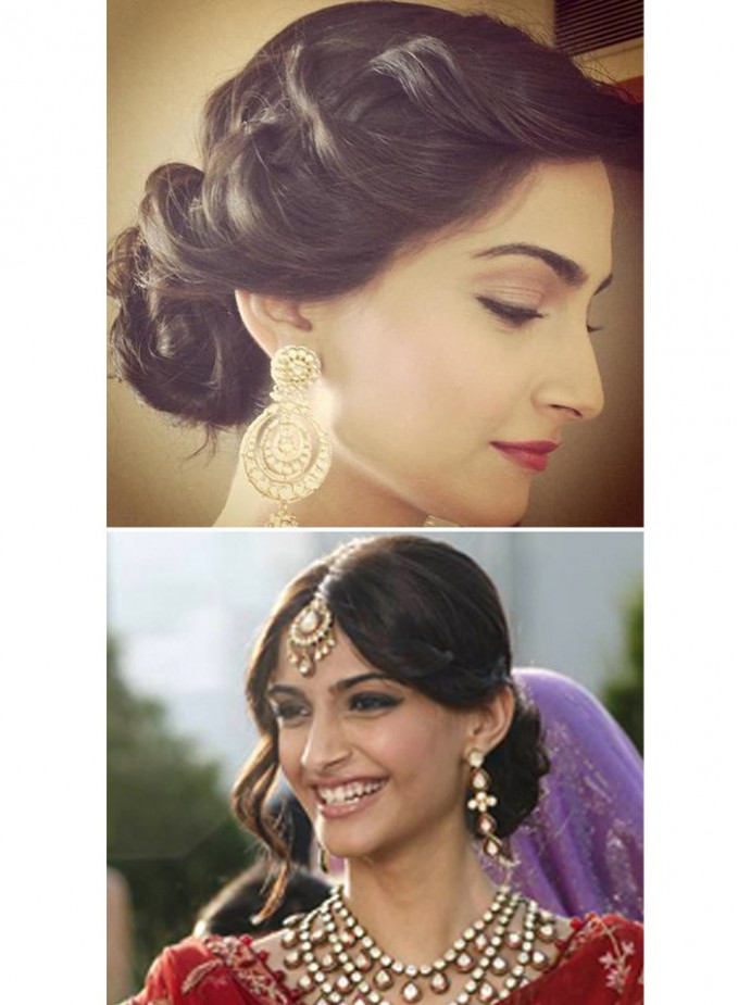 5 Pulled back wedding hairstyles | Exploring Indian ...