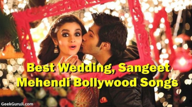 60 Dance songs For wedding Sangeet (Wedding Songs Hindi ...