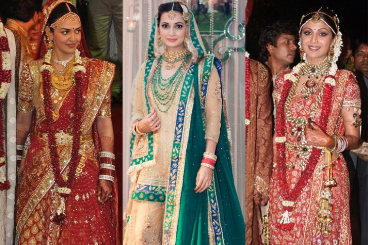 7 Most Expensive Bollywood Wedding Dresses Flaunted By ...
