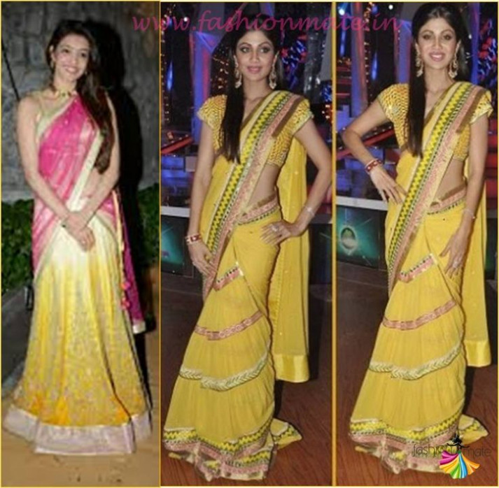 71 best images about Saree Draping Styles on Pinterest ...