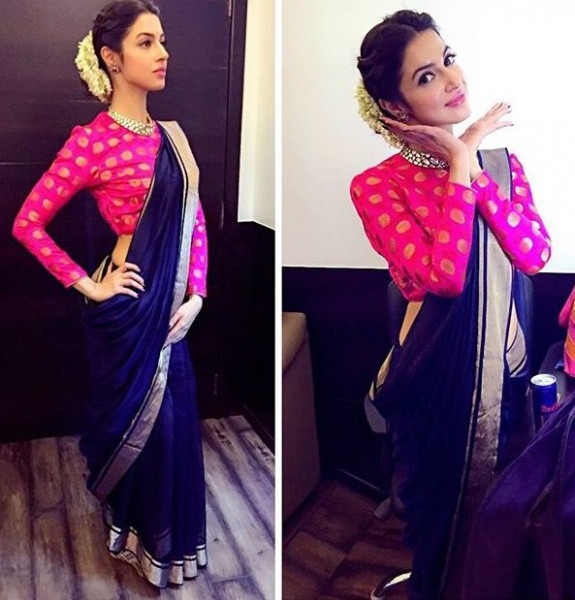 71 best Saree Draping Styles images on Pinterest | India ...