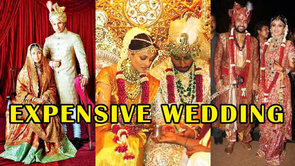 8 Shocking Expensive Wedding Dresseses Of Bollywood ...