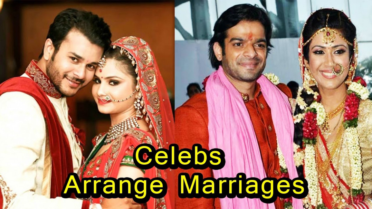 8 TV and Bollywood Celebrities who had an Arrange Marriage ...