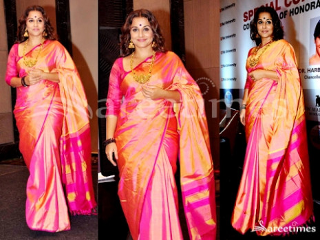 9 Irresistible Kanjivaram Silk Sarees Worn By Bollywood ...