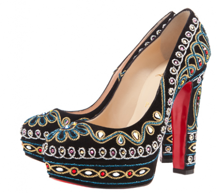 A WEDDING PLANNER: Christian Louboutin Bollywood Heels