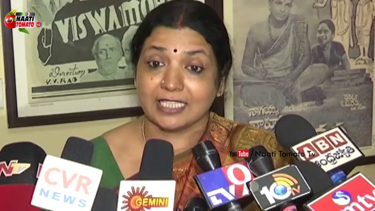 Actress Jeevitha Rajasekhar Responds On Tollywood @Drugs ...