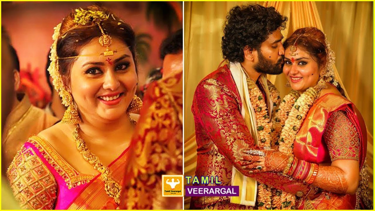 Actress Namitha Marriage and Reception Photos Video ..