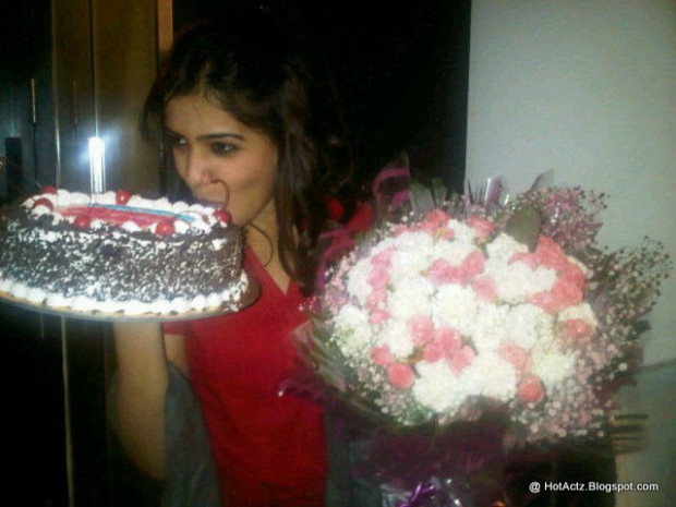 Actress Samantha BirthDay Celebration Photo's Unseen | All ...