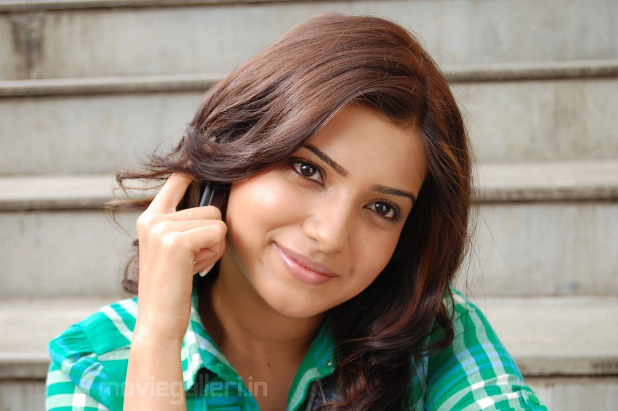 Actress Samantha Ruth Prabhu Cute Wallpapers | All About ...