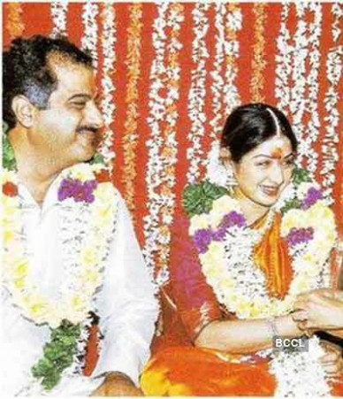 Actress Sridevi and Boney Kapoor's wedding photos